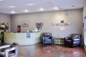 Canadian Dent Calgary front office