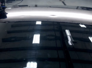 Car Hail Damage Before PDR