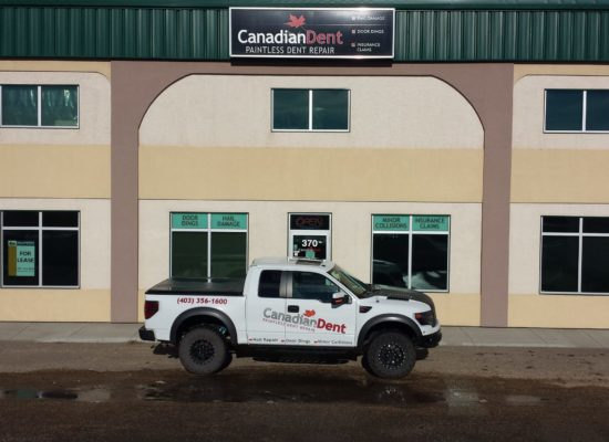 Canadian Dent Red Deer location storefront